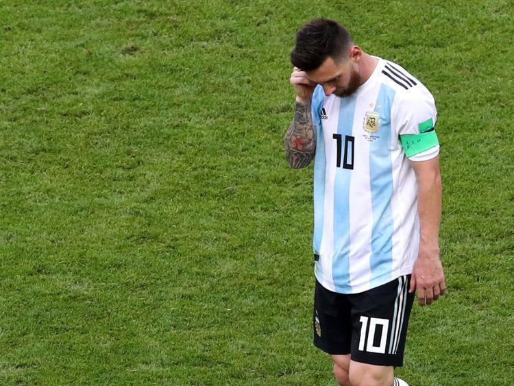 A 31 ans, Lionel Messi ne pourra plus jamais jouer dans une Coupe Wold