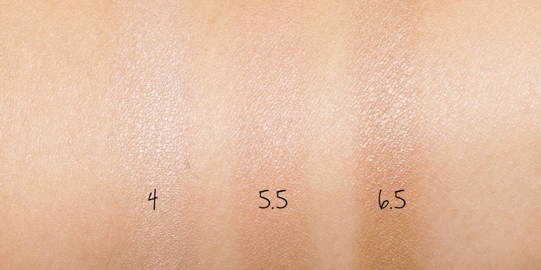 , 5,5 et 6,5 nuances