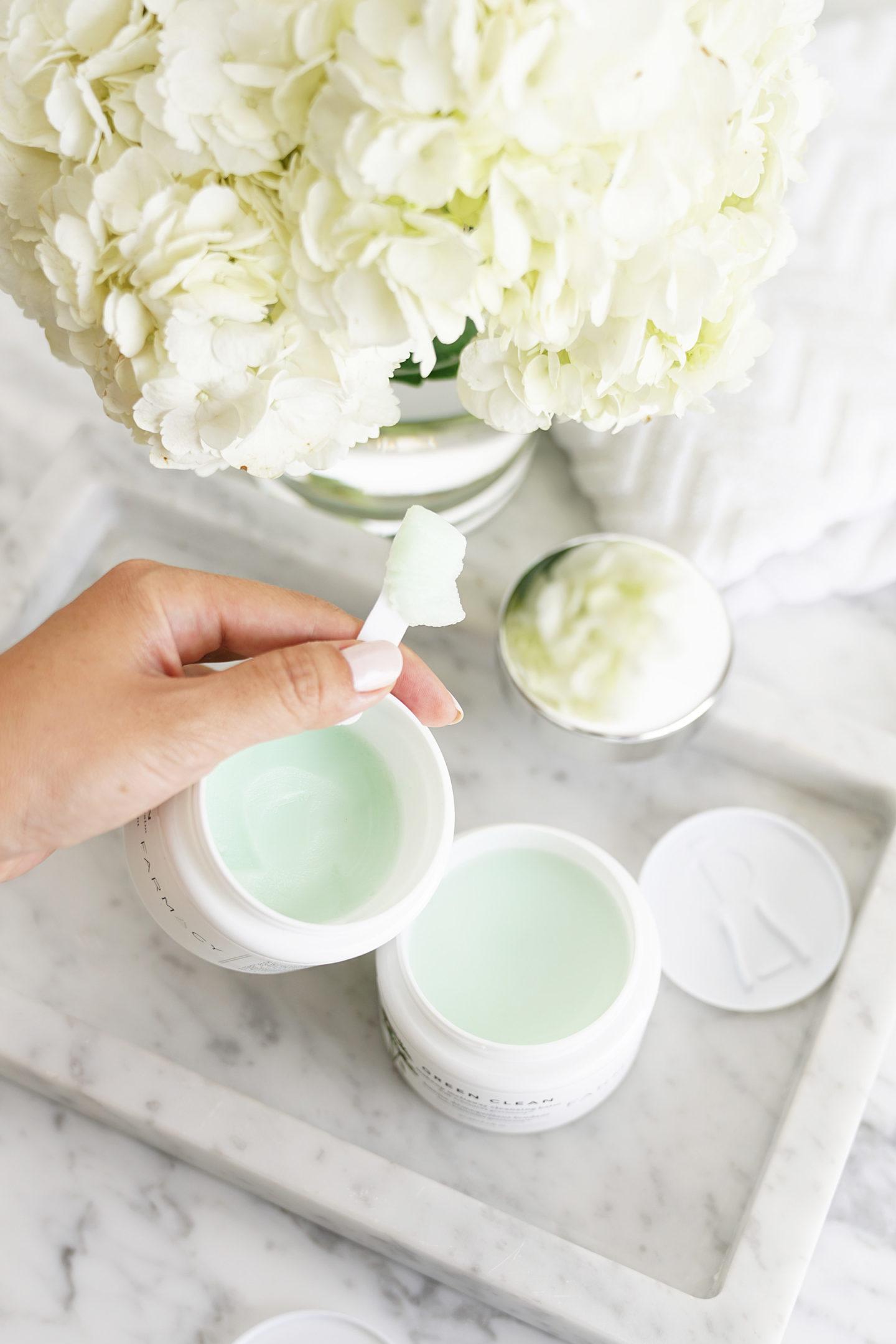 Revitalisant Meltaway Baume nettoyant vert Clean Beauty