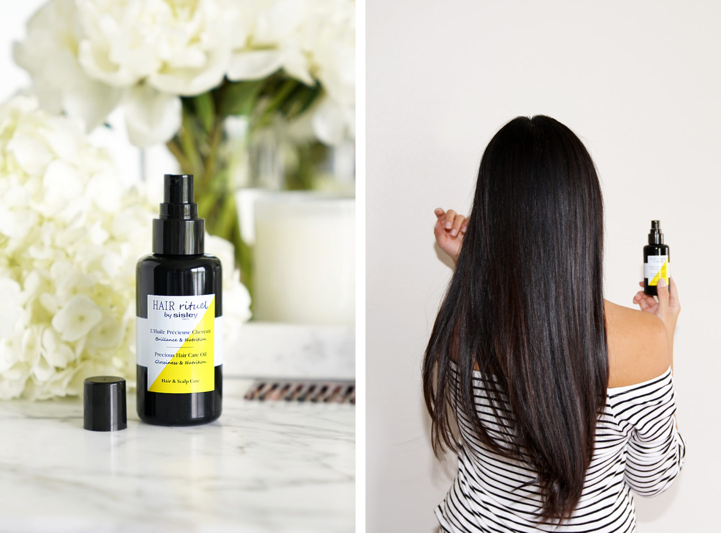 Hair Rituel par Sisley Precious Hair Oil Review | Le livre de beauté