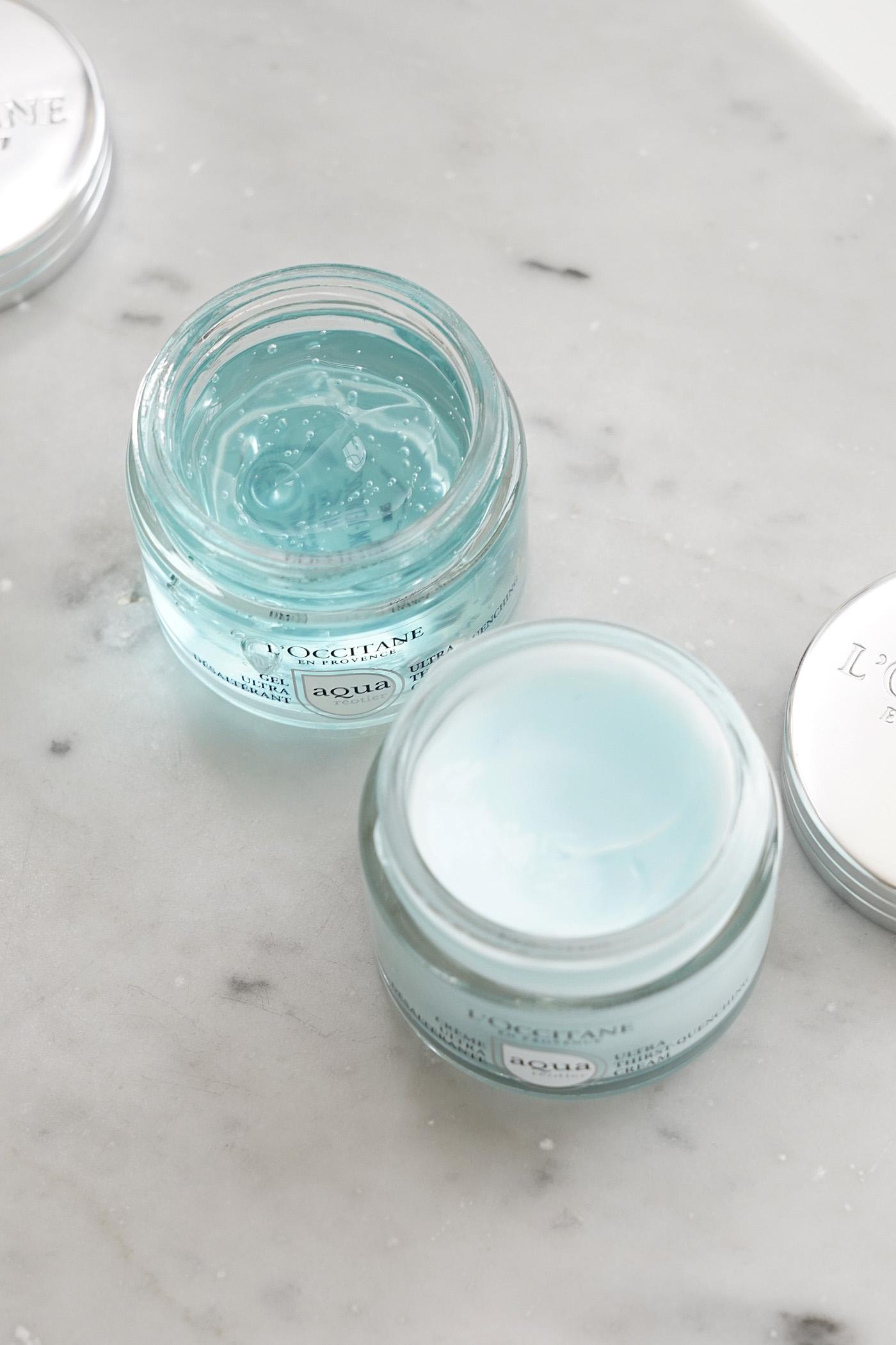 Aqua Reotier Thirst-Quenching Gel vs crème