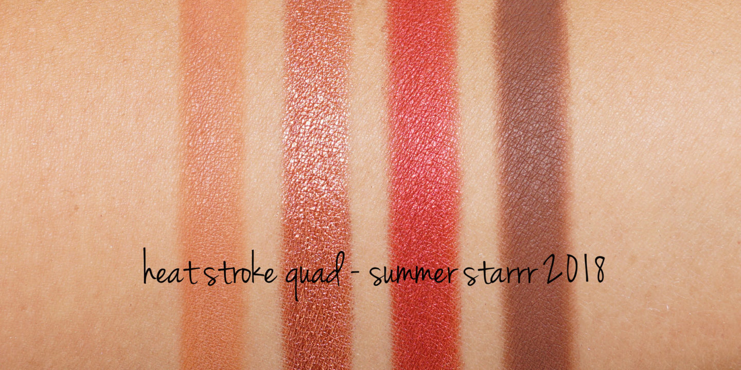 MAC Starrr Été Starrr Heat Steam Eyeshadow Quad