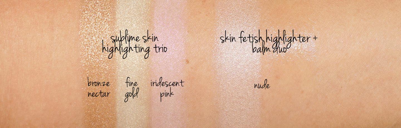 Pat McGrath Labs Fétichisme de la peau Sublime sublime des échantillons de trio et de la peau Fétiche Surligneur Balm Duo in Nude | Le livre de beauté