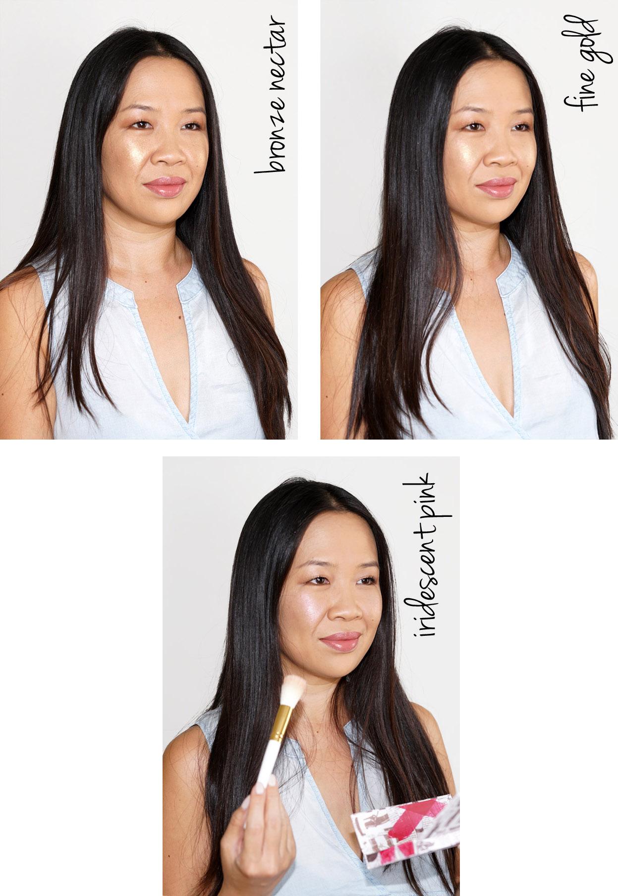 Pat McGrath Labs Fétichisme de la peau Sublime Highlighting Trio look beauté | Le livre de beauté