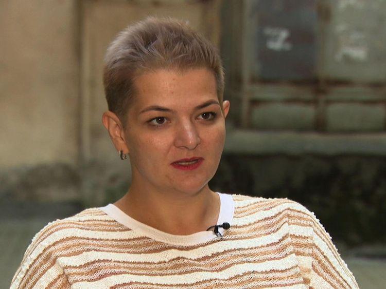 Aleksandra Krylenkova du groupe de défense des droits civiques Memorial