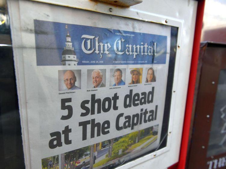 Le journal vendredi matin après le tournage