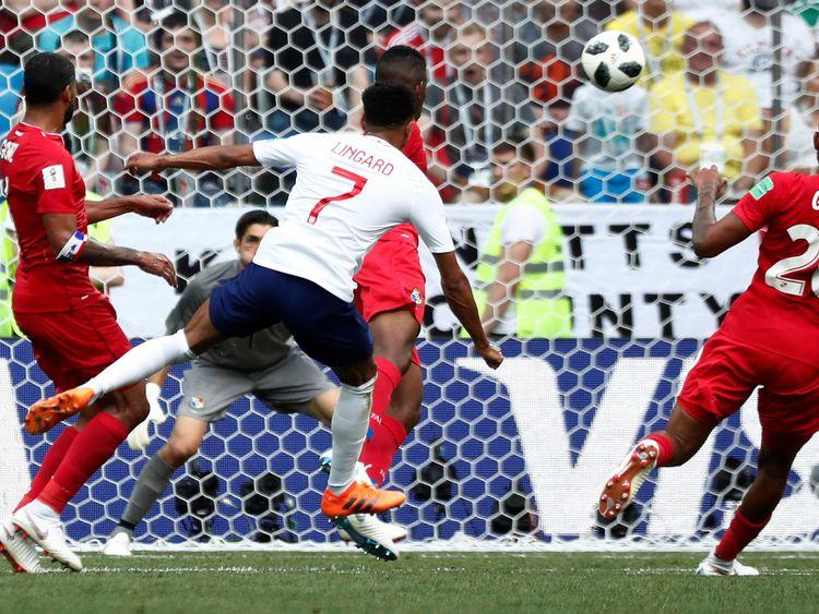 L'Angleterre fait trois buts alors que Lingard renoue avec une frappe dans le coin du but du Panama