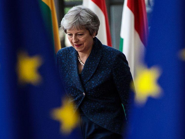 Theresa May à Bruxelles pour le sommet de l'UE