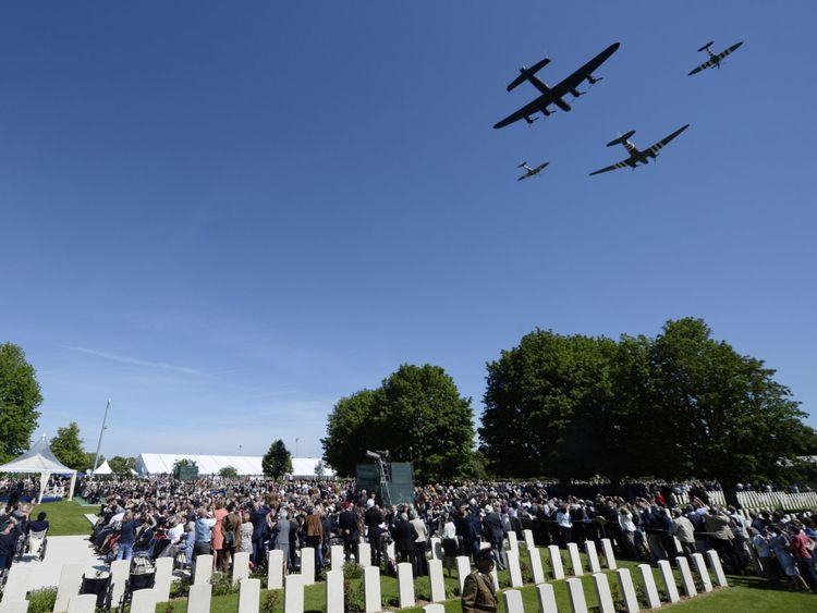 Le 70ème anniversaire du D-Day a été commémoré avec plusieurs événements en Normandie