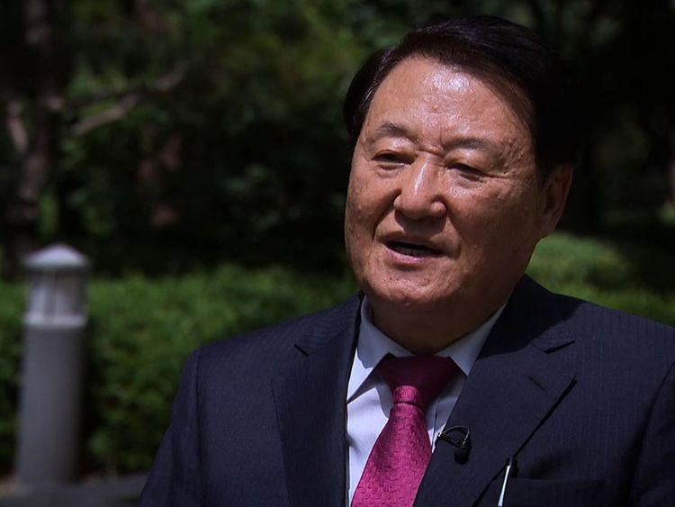 Professeur Taewoo Kim de l'université de Konyang