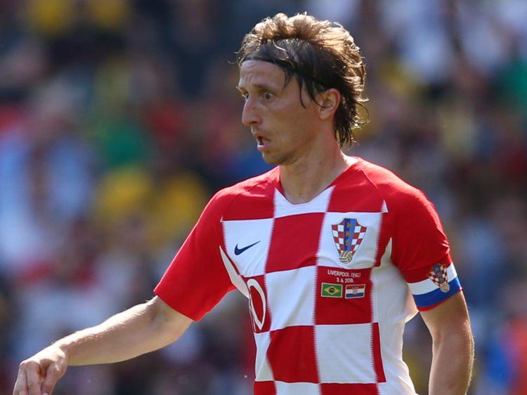 Croatie & # Luka Modric </span><br />         <span class=