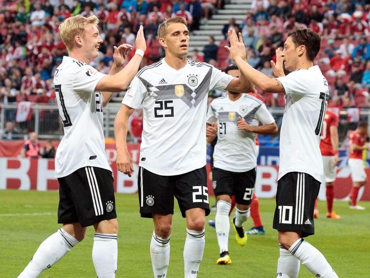 L'Allemagne est titulaire de la Coupe du monde