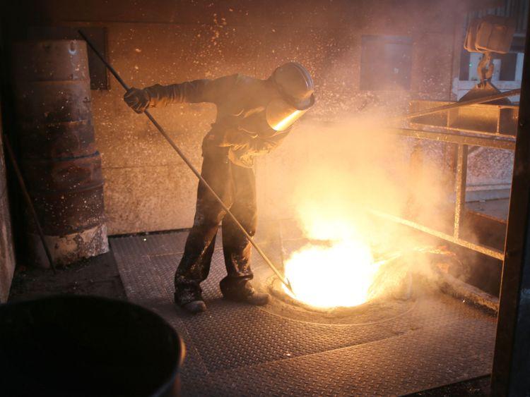 Ouvrier métallurgiste