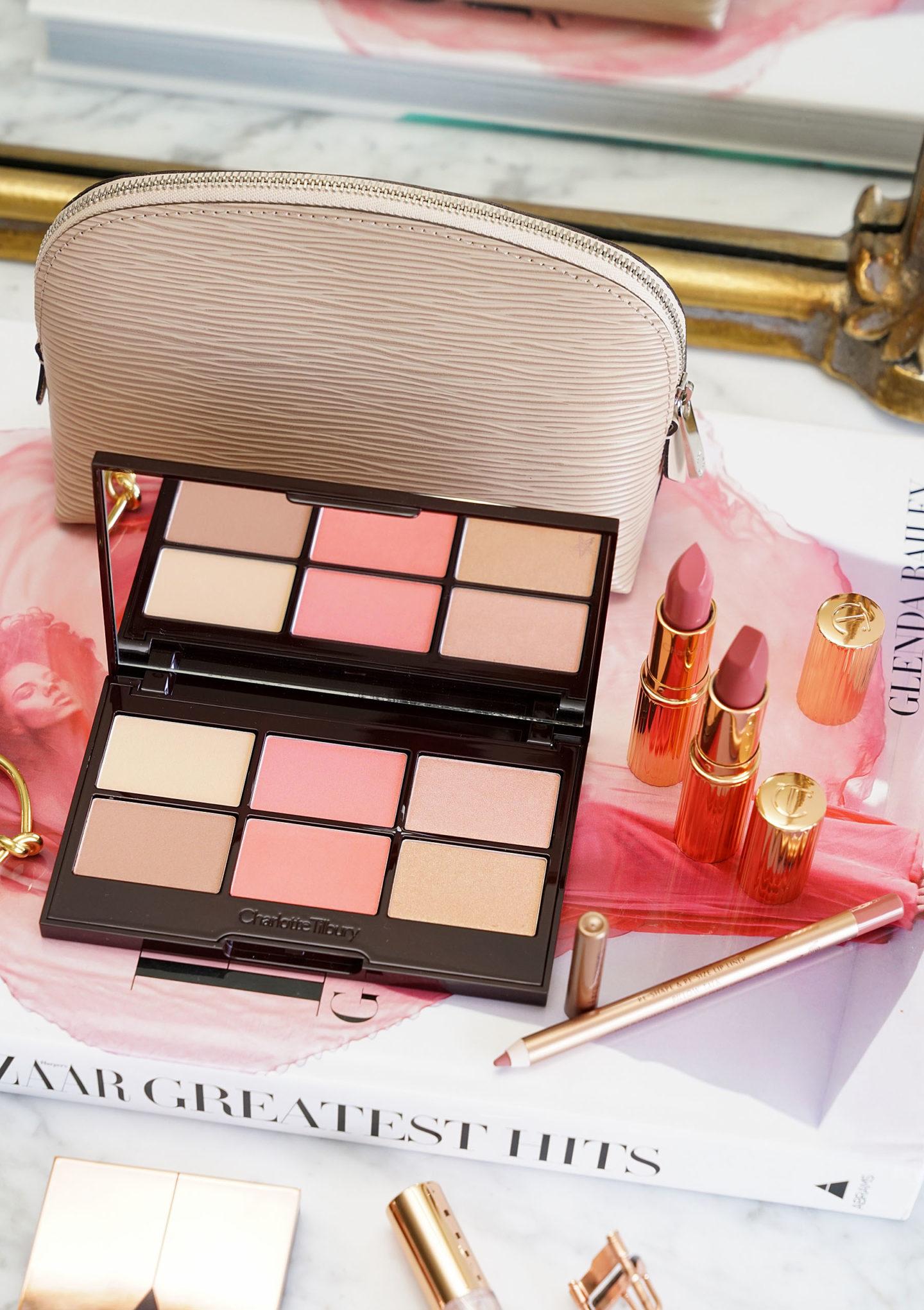 Nordstrom Anniversary Charlotte Tilbury Glowing Jolie peau Palette et jolie rose ensemble de lèvres