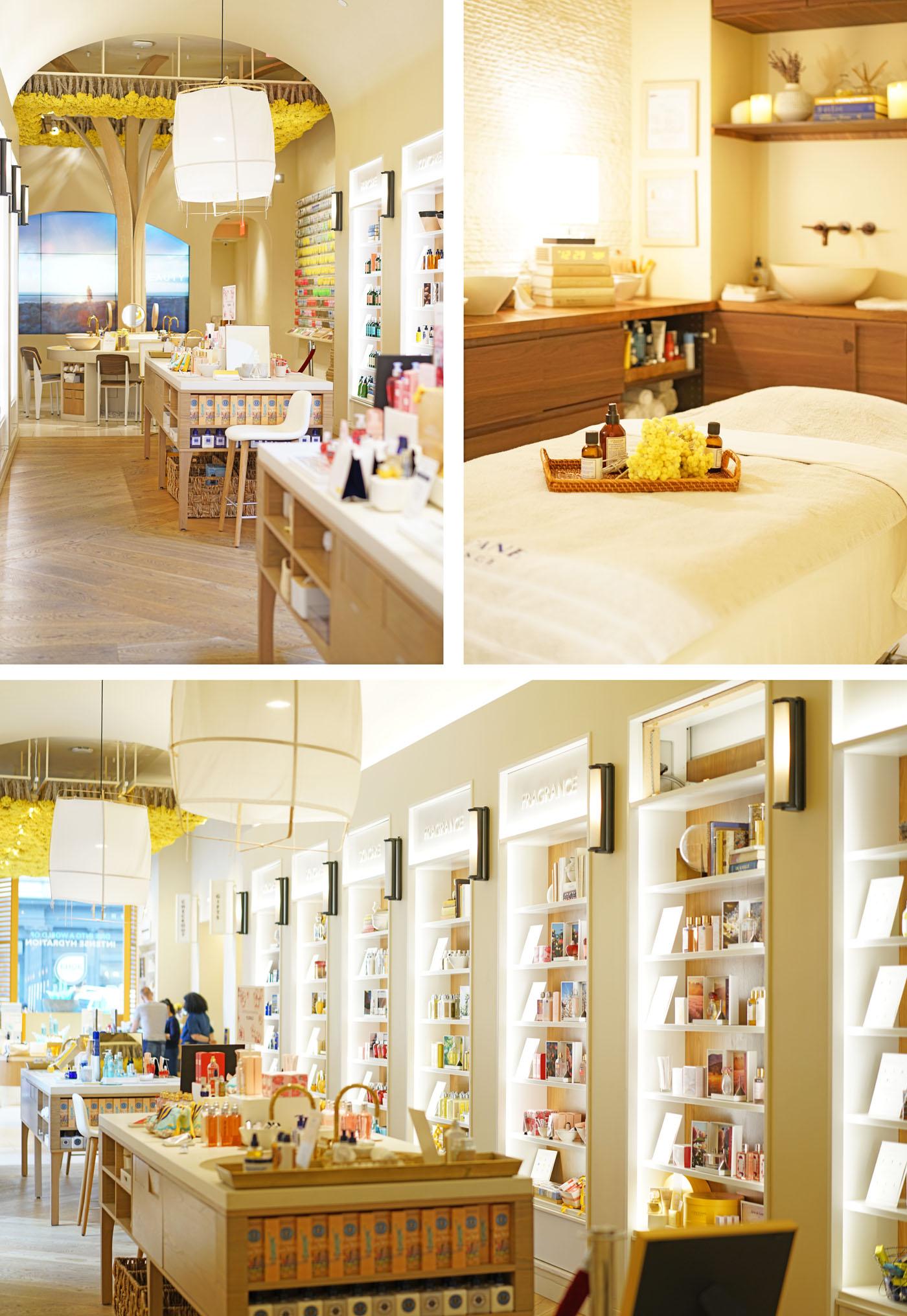 L'Occitane Flatiron Store NYC | Le livre de beauté