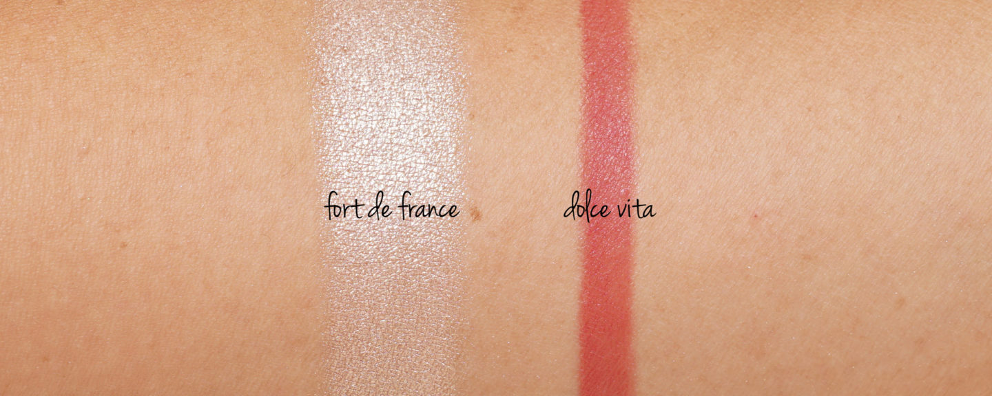 NARS Sunseeker Lip and Light Duo - Fort de France et Dolce Vita | Le livre de beauté
