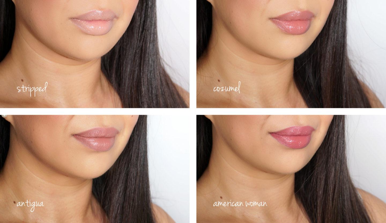 NARS Endless Summer Déshabillé Liquid Lip Set 1 échantillons | Le livre de beauté