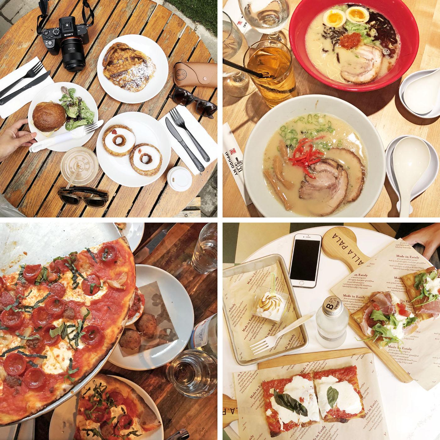 Dominique Ansel Boulangerie, Ippudo Ramen, Eataly, Pizza Rubirosa | NYC Eats