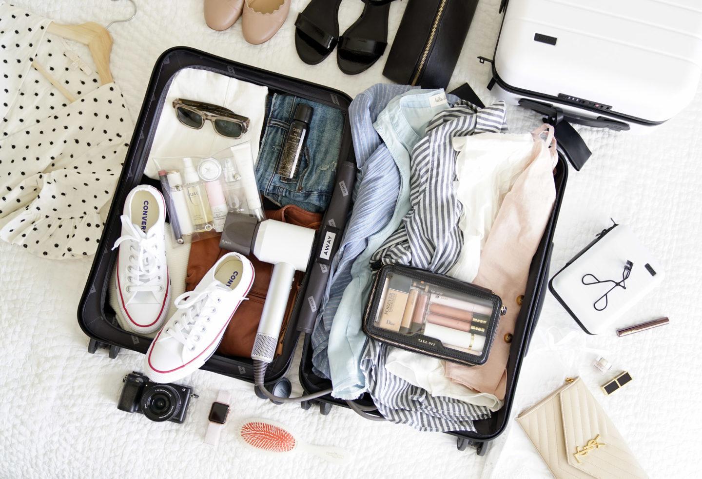 Emballage pour bagages à l'extérieur de NYC | Le livre de beauté