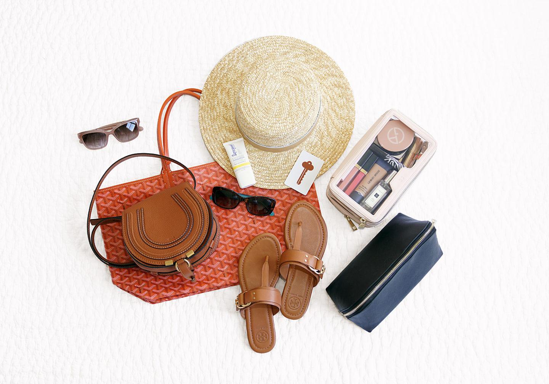 Le manque de couleur des accessoires de vacances d'été, Chloe Mini Marcie, Tory Burch Marsden, Le quotidien édité
