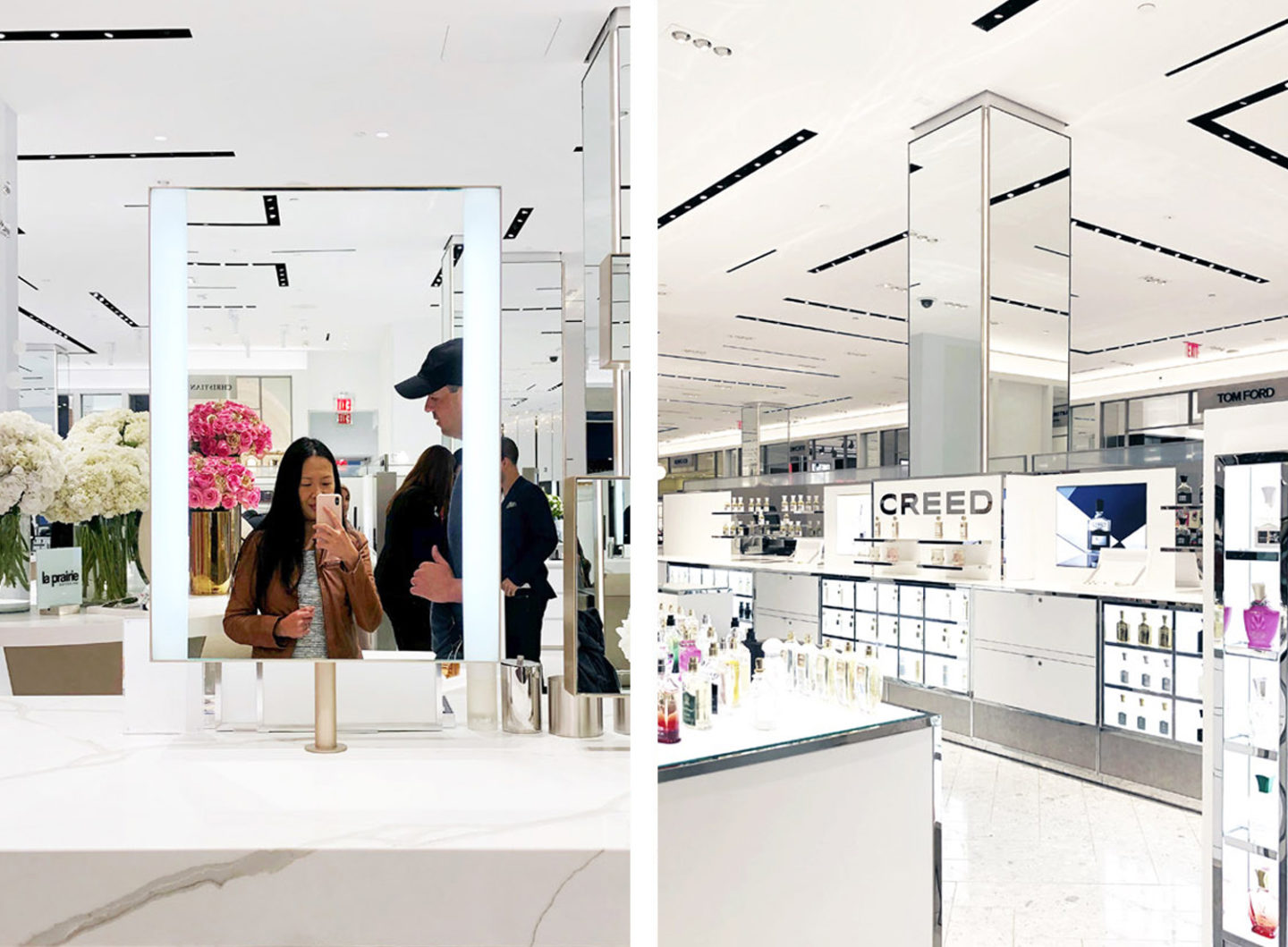 Saks Beauty Floor NYC
