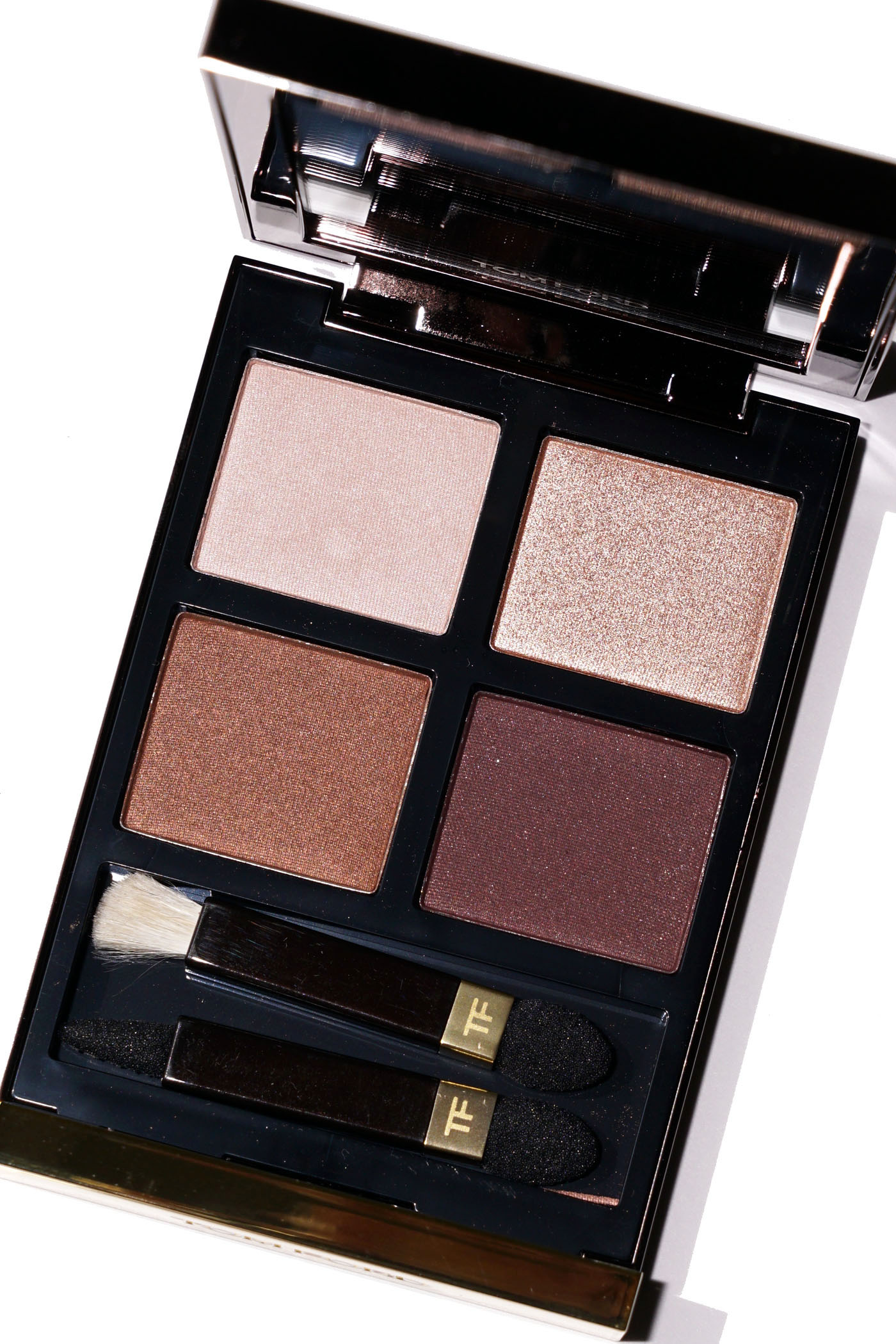 Tom Ford Iris Bronze Eyeshadow Quad Critique | Le livre de beauté