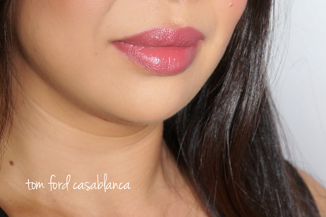 Tom Ford Lip Couleur Casablanca swatch