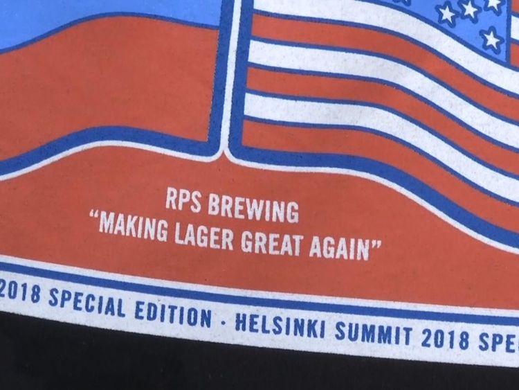 Ils ont également utilisé le slogan pour rendre la lager encore plus belle.