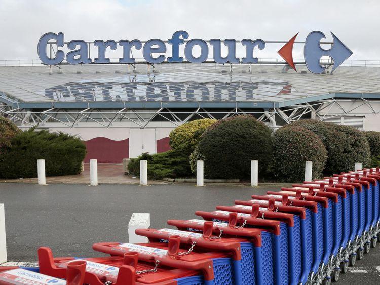 Carrefour est le plus grand détaillant de supermarchés en France