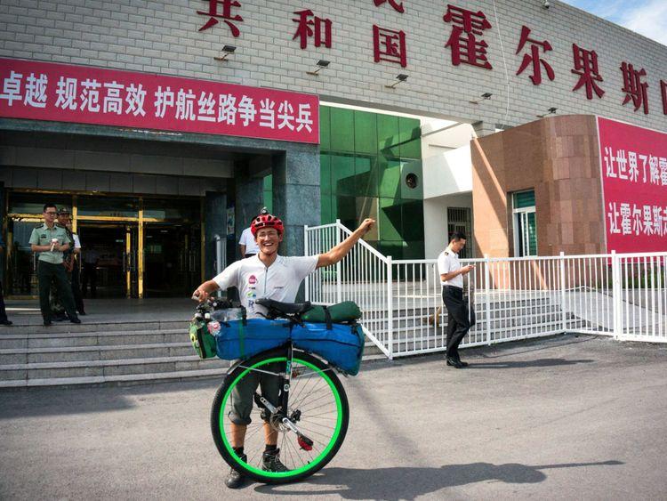 Ed a pris en Chine sa tournée mondiale