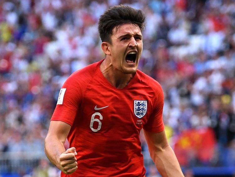 Une tête de Harry Maguire donnait l'avantage à l'Angleterre 30 minutes