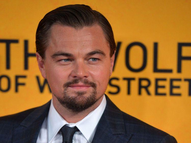 Leonardo DiCaprio à la première du Loup de Wall Street