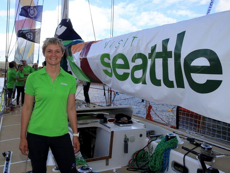 Nikki Henderson était tout sourire avant de commencer la course il y a 11 mois