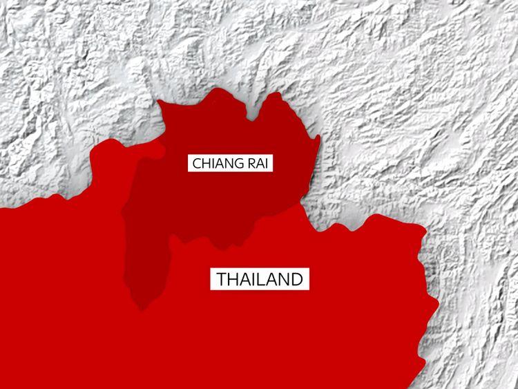 La grotte est située à Chiang Rai