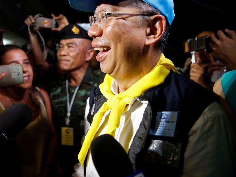 Le gouverneur par intérim de Chiang Rai, Narongsak Osatanakorn, a dirigé l'opération