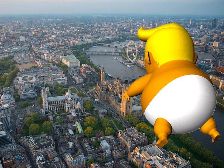 Pic: Trump Baby Royaume-Uni