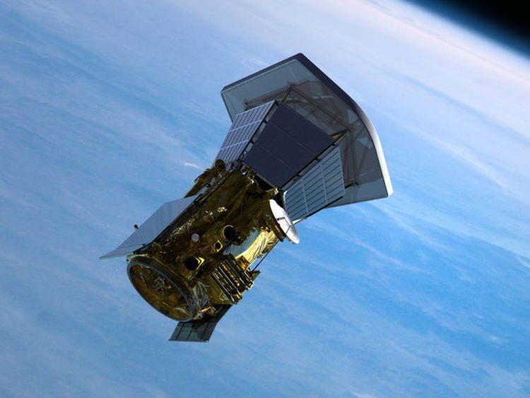 Illustrations du vaisseau spatial Solar Probe Plus quittant la Terre. Pic: JHU / APL