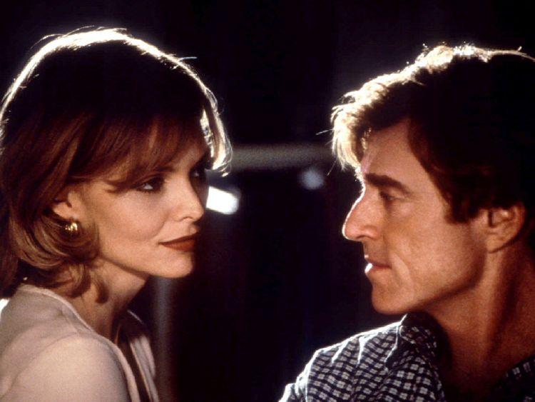 Redford a joué aux côtés de Michelle Pfeiffer en 1996 et Up Close and Personal