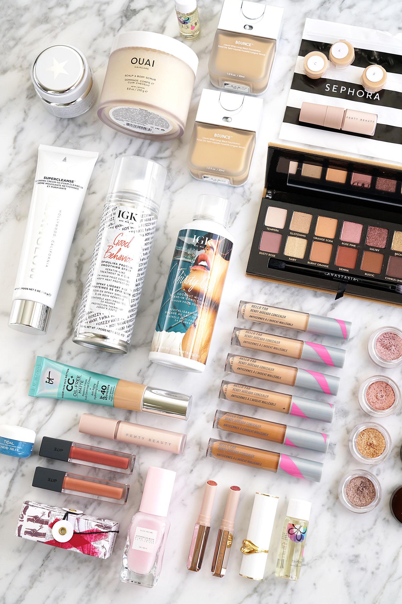 Sephora Haul Picks Ouai, Recette Glow, IGK, Bite Beauty, Glamglow   Le livre de beauté
