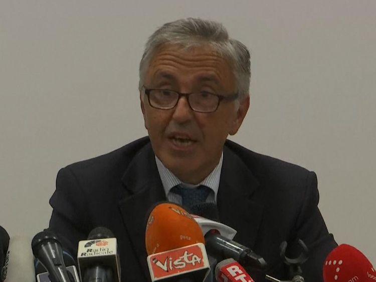 Giovanni Castellucci a affronté les médias pour la première fois depuis la catastrophe de mardi