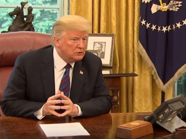 Le président des États-Unis n'a pas pu communiquer avec M. Pena Nieto pendant l'enregistrement en direct