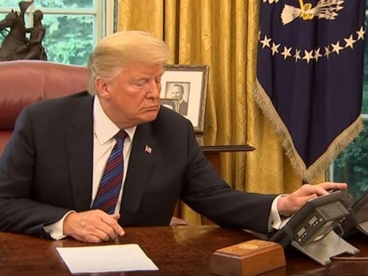 & # 39; Enrique? & # 39; M. Trump ne pouvait pas passer par M. Pena Nieto