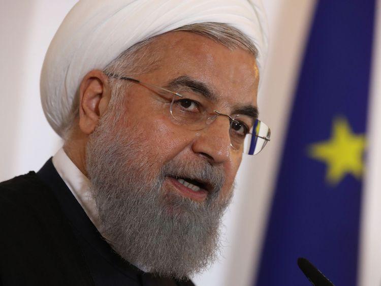 Le président Rouhani a rejeté les appels à la négociation avec les États-Unis