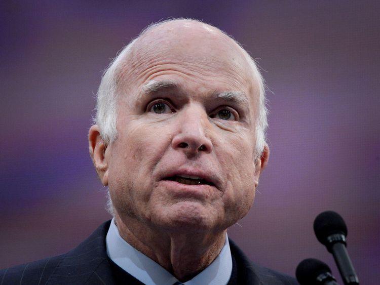 John McCain a révélé qu'il avait un cancer du cerveau l'année dernière