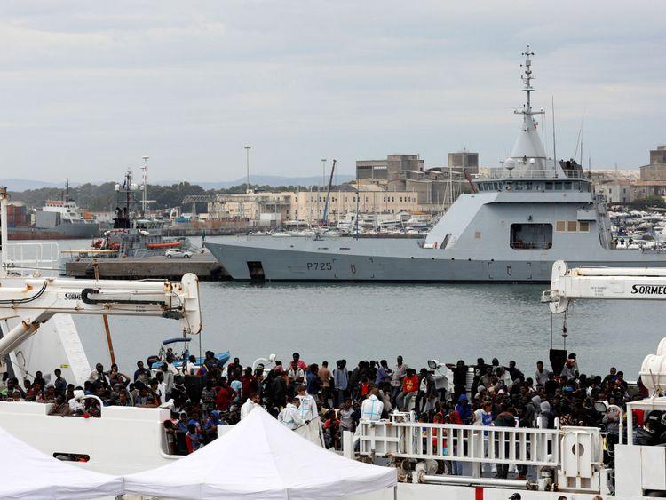 150 migrants ont passé neuf jours au large des côtes siciliennes