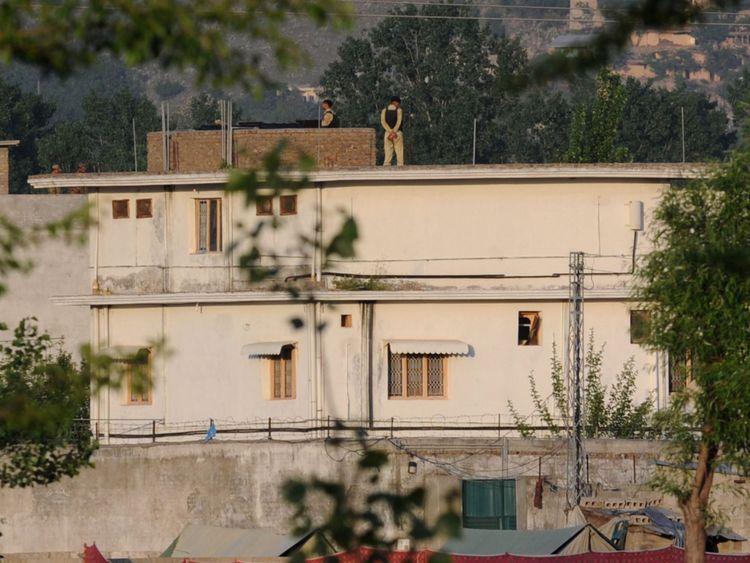 Oussama Ben Laden, à Abbottabad, au Pakistan, où il a été capturé