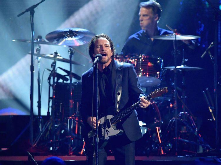 Pearl Jam a dit vouloir encourager les gens à voter dans les prochaines mi-mandat