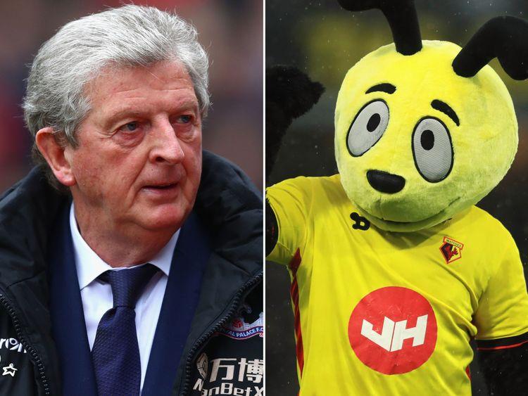 Roy Hodgson a lancé un avertissement à Harry the Hornet avant son prochain match