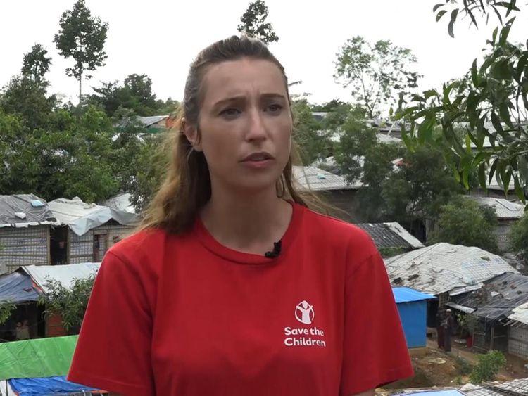 Daphnee Cook, de Save the Children, a déclaré: «Les enfants sont très vulnérables aux glissements de terrain et se perdent.