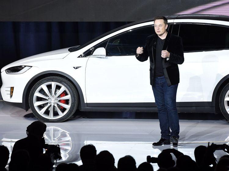 Tesla PDG Elon Musk